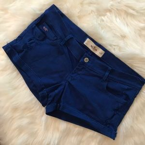 Hollister Distressed Jean Shorts. Size: 7